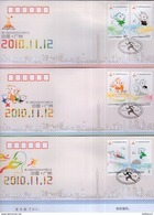 CHINA 2010-27 Opening Ceremory Of 16th Asian Games FDC - 1949 - ... République Populaire