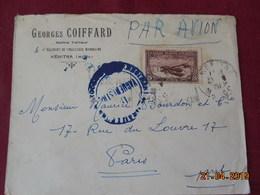 Lettre à Destination De Paris Par Avion - Maroc (1891-1956)
