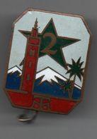 Insigne 1940 2e Régiment De Tirailleurs Marocains,attache 1 Point Boléro Par Arthus Bertrand 46 Rue De Rennes..BT10 - Armée De Terre