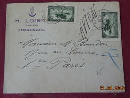 Lettre De 1926 à Destination De Paris Par Avion - Maroc (1891-1956)