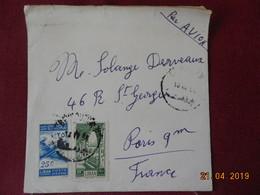 Lettre De 1954 De Beyrouth à Destination De Paris - Lebanon