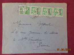 Lettre De 1945 à Destination De St Mandé - Algeria (1924-1962)