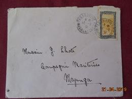 Lettre De 1931 à Destination De La Compagnie Maritime à Majunga - Covers & Documents