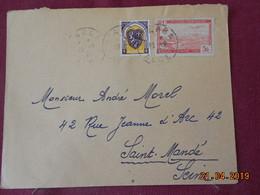 Lettre De 1942 à Destination De St Mandé - Algeria (1924-1962)
