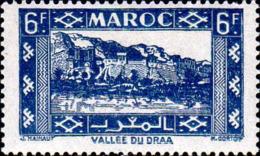 Maroc (Prot.Fr) Poste N** Yv:233 Mi:227 Vallée Du Draa - Maroc (1891-1956)