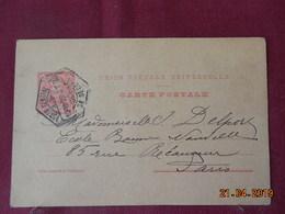 Entier Postal De 1905 à Destination De Paris - Entiers Postaux