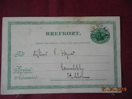 Entier Postal De 1900 à Destination De ..... - Entiers Postaux