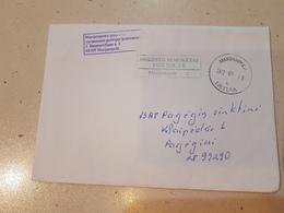 Lithuania Litauen Cover Sent From Marijampole To Pagegiai 2012 - Lituania