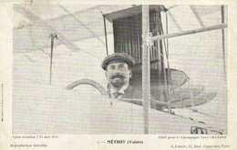 Jyon Aviation 7 15 Mai 1910 METROT (Voisin) Edit Par Le Champagne Leon CHANDON  RV - Fliegertreffen