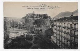 LOURDES - VUE PARTIELLE DU GALLIA ET LONDRES HOTEL - CPA NON VOYAGEE - Lourdes