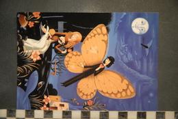 CP, ILLUSTRATEUR PEYNET, LA SAINT VALENTIN, 1999 -  DRAGUIGNAN, La Belle Et Le Papillon, Association Des Amis Cartophile - Peynet