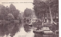 Seine-et-Marne - Mary-sur-Marne - L'Ile Du Moulin De Condé - France