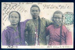Cpa D' Afrique Du Sud South Africa -- Envoyée De Cape Town 1905 -- Chinese Mining Boys   AFS8 - Afrique Du Sud