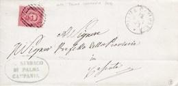 Un Annullo Per Paese Palma Campania (Caserta) Numerale A Sbarre - 1878-00 Umberto I