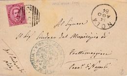 Un Annullo Per Paese Nola (Caserta) Numerale A Sbarre - 1878-00 Umberto I