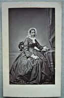 CDV Photo M. J. E. GAUME à FUANS ( Doubs 25 ) Avis De Décès 1876 - Photographs