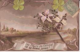CP - LES FLEURS DE L AMITIE.......... - Fleurs