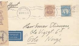 Schweden: 1942: Södertälje Nach Oslo - Zonder Classificatie