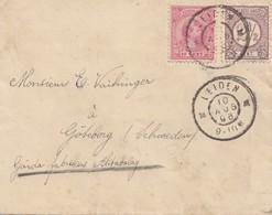 Niederlande: 1898: Leiden Nach Göteborg - Niederlande