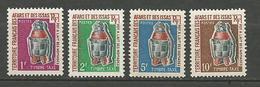 AFARS ET ISSAS Taxe N° 1 à 4 NEUF** Luxe  SANS CHARNIERE / MNH - Afar- Und Issa-Territorium (1967-1977)
