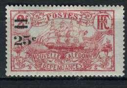 Nouvelle-Calédonie 1924-27 Y&T 128 * - Neufs