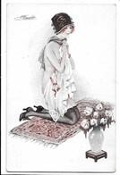 Illustratore S. Meunier - Donnina - Femme - Woman. Sexi - Seno. - Meunier, S.