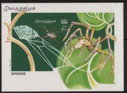 Somalia - 2002 - N°Mi. Bloc BL 98 - Spiders - Neuf Luxe ** / MNH / Postfrisch - Spinnen