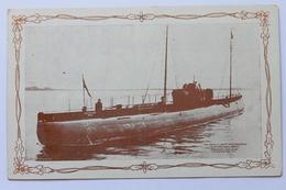 U-BOOT DEUTSCHLAND, KAPITÄN PAUL KÖNIG, 1916 - Submarines