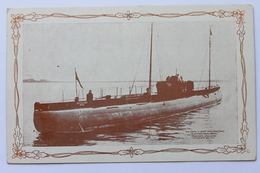 U-BOOT DEUTSCHLAND, KAPITÄN PAUL KÖNIG, 1916 - Sous-marins