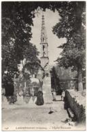 CPA 29 - LANDEVENNEC (Finistère) - 246. L'Eglise Paroissiale (animée). ND Phot - Landévennec