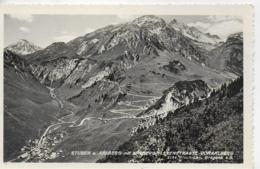 AK 0222  Stuben Am Arlberg Mit Flexen- U. Arlbergstrasse - Verlag Risch Lau Um 1939 - Stuben