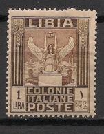 Libia - 1921 - N°Yv. 31 - Victoire 1l - Neuf * / MH VF - Libyen