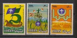 Liban - 1983 - N°Yv. 283 à 285 - Scoutisme / Scouts - Neuf Luxe ** / MNH / Postfrisch - Libanon