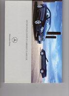 Brochure Publicitaire Mercedes CLK - Cars