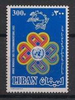Liban - 1986 - N°Yv. 286 - Communications - Neuf Luxe ** / MNH / Postfrisch - Télécom