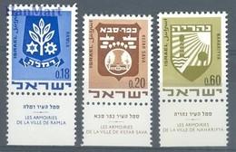 Israel 1970 Mi 486-488 MNH ( ZS10 ISR486-488 ) - Israel