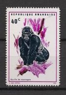 Rwanda - 1970 - N°Yv. 371 - Gorille / Gorilla - Neuf Luxe ** / MNH / Postfrisch - Gorilles