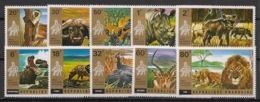 Rwanda - 1972 - N°Mi. 487 à 496 (COS 451 à 460) - Faune - Série Complète - Neuf Luxe ** / MNH / Postfrisch - Rwanda