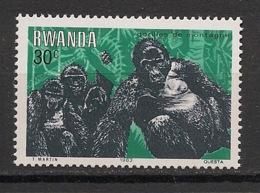 Rwanda - 1983 - N°Yv. 1118 - Gorille / Gorilla - Neuf Luxe ** / MNH / Postfrisch - Gorilles
