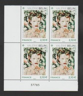 """FRANCE / 2019 / Y&T N° 5301 ** : """"Photographe Contemporain"""" (Valérie Belin) X 4 CdF Inf G - Unused Stamps"""