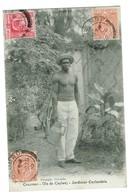 Ceylan - Colombo - Jardinier Ceylandais. Gros Plan. édit Sburque, Datée 1910 Tb état. - Sri Lanka (Ceylon)