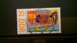 FRANCOBOLLI STAMPS GERMANIA DEUTSCHE DDR 1967 USED SERIE  CHILDRENS DAY GERMANY - Usati