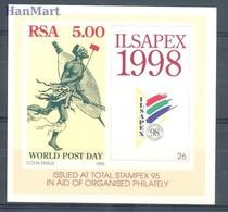 Republic Of South Africa 1995 Mi Bl 39 MNH ( ZS6 SAFbl39 ) - Kulturen