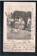 MEXICO  Choza De Indios Ca 1905 OLD POSTCARD - Mexique