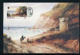 Jersey - Carte Maximum 1989 - Oeuvre De Sarah Louisa Kilpack - Jersey