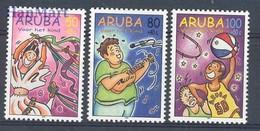 Aruba 1998 Mi 226-228 MNH ( ZS2 ARB226-228 ) - Basketball