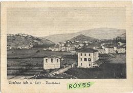 Lazio-rieti-borbona Panorama Case Di Borbona Anni 40/50 - Italië