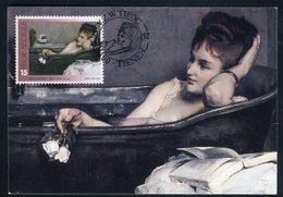 Belgique - Carte Maximum 1992 - Oeuvre De Alfred Stevens - Maximum Cards