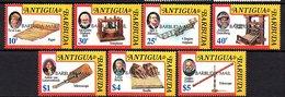 Antigua & Barbuda 1993 Braiille Bell Telephone, Gallilei Leeuwenhoek SG 1434-1441 (60 Cts Lacks) (205) - Antigua Und Barbuda (1981-...)