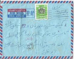 UAE 1977 80 Fils Airmail Cover To Pakistan. - Abu Dhabi